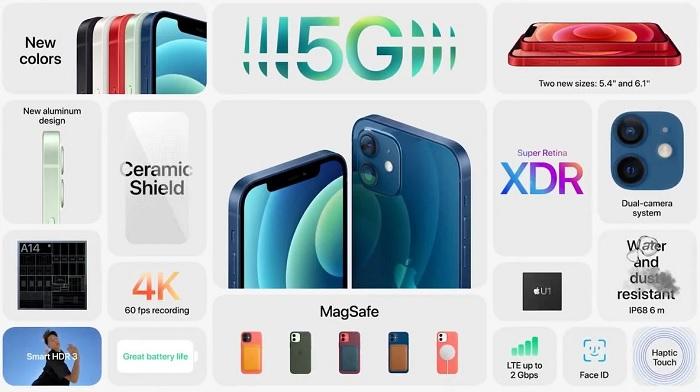 iPhone 12 đã hỗ trợ 5G