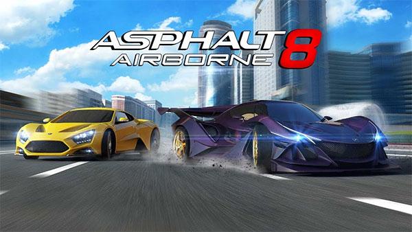 Asphalt 8: Airborne với đồ họa vô cùng đẹp mắt, hệ thống đường đua phong phú