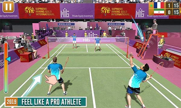 Game Badminton Super League cho giao diện ưa nhìn, âm thanh chân thực