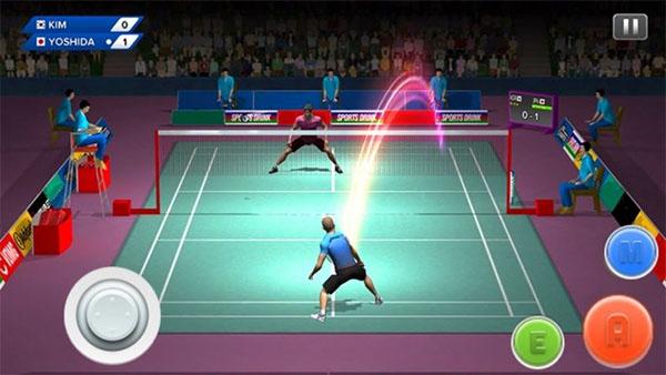 Badminton Club khá dễ thương khi các cầu thủ là những nhân vật hoạt hình đáng yêu