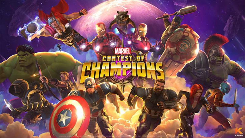 Marvel Contest of Champions tương thích với cả 2 hệ điều hành iOS và Android