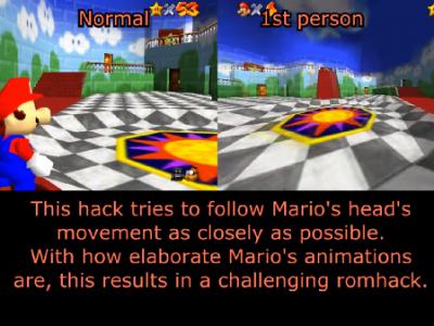 Game Super Mario 64 1 2
