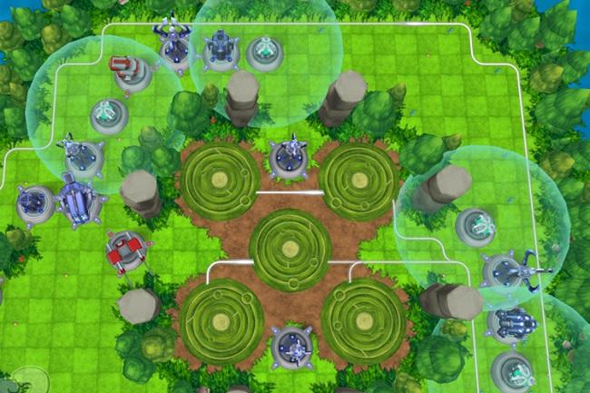 Trong game, người chơi sẽ xây dựng các tháp phòng thủ chiến thuật nhằm ngăn chặn, tiêu diệt kẻ địch