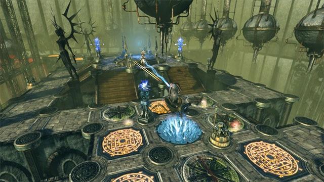 Một trận chiến quét sạch kẻ thù trong game