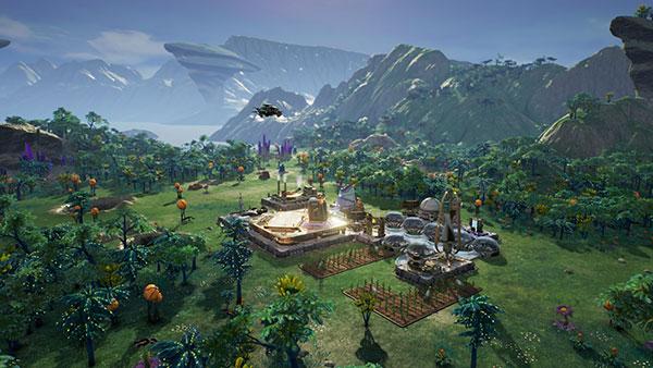 Game Aven Colony xây dựng thành phố cho riêng bạn