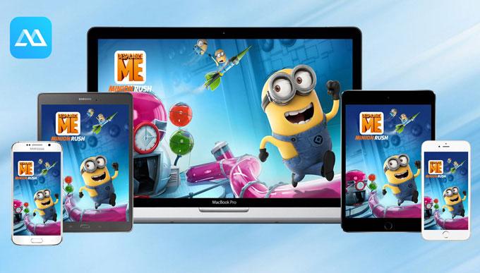 Chia sẻ hình ảnh từ màn hình smartphone lên màn hình máy tính bằng ApowerMirror