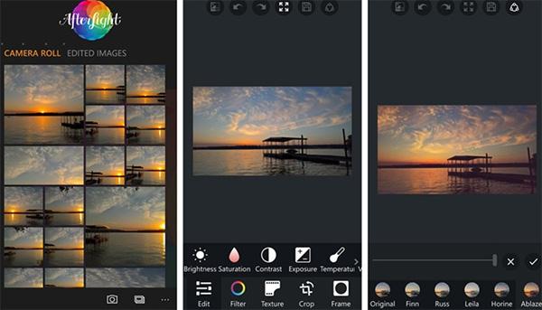 Phần mềm chỉnh sửa ảnh Afterlight