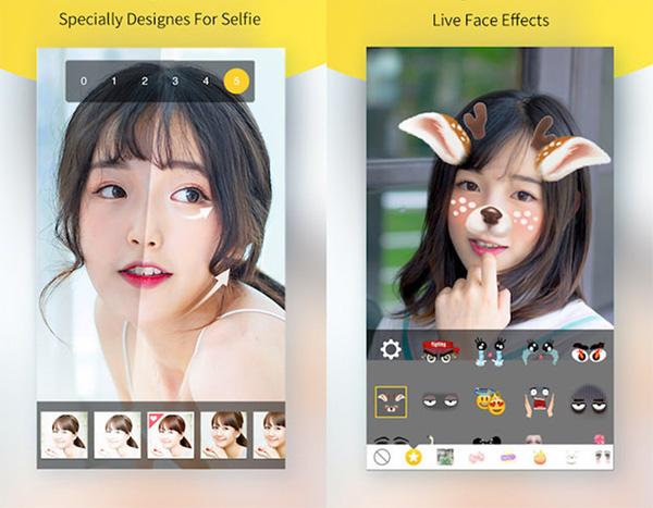 Phần mềm PhotoWonder cho iOS