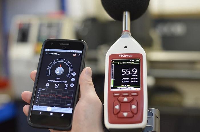 Dùng phần mềm trên smartphone để ngăn khả năng mất thính giác do tiếng ồn