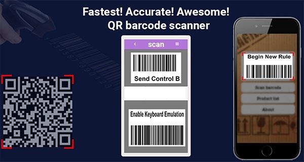 Công cụ Barcode Scanner Pro với những tính năng được nâng cấp