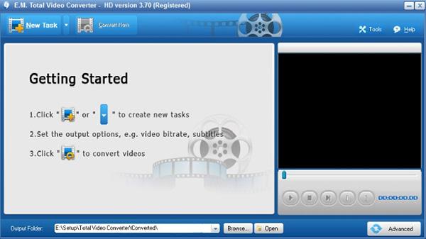 Phầm mềm giảm dung lượng video Total video converter