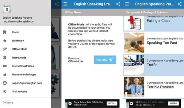 Phần mềm English Conversation Practice