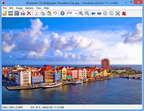 Phần mềm nén ảnh IrfanView