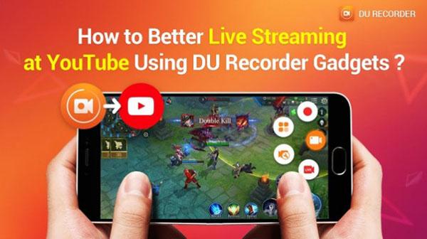 Ứng dụng quay màn hình DU Recorder Live dành cho iOS
