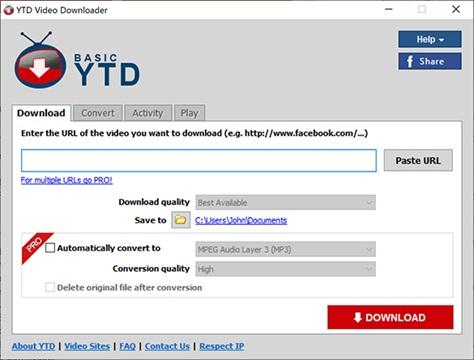 YTD Video Downloader là một trong những phần mềm tải video từ YouTube nhanh nhất