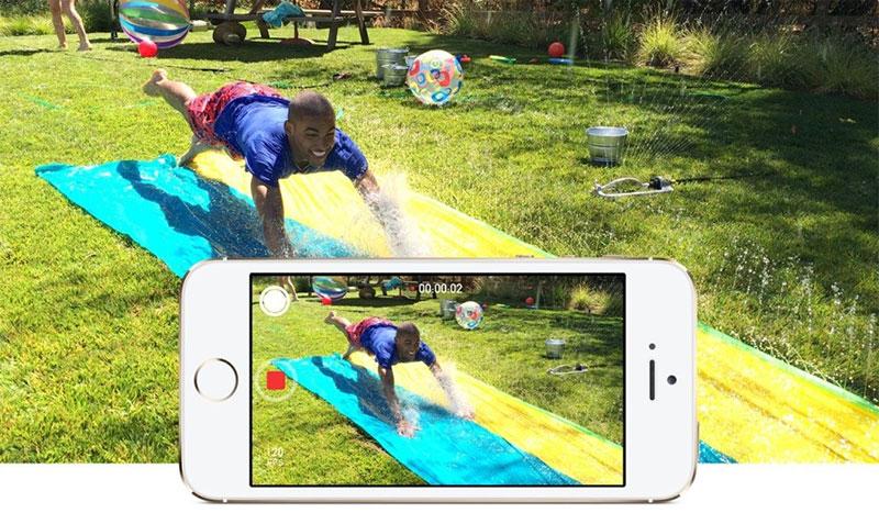 Quay video tua ngược trên iPhone
