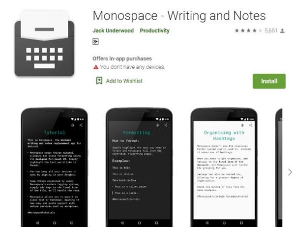 Phần mềm Monospace