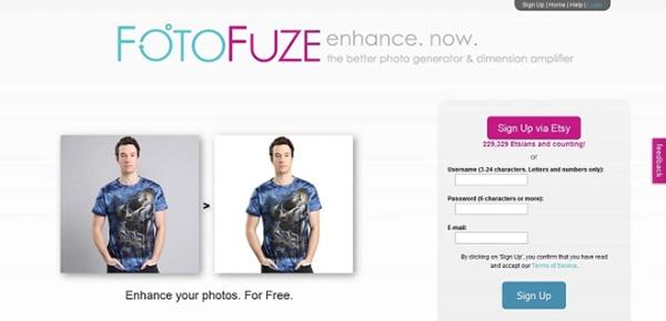 Phần mềm FotoFuze.com
