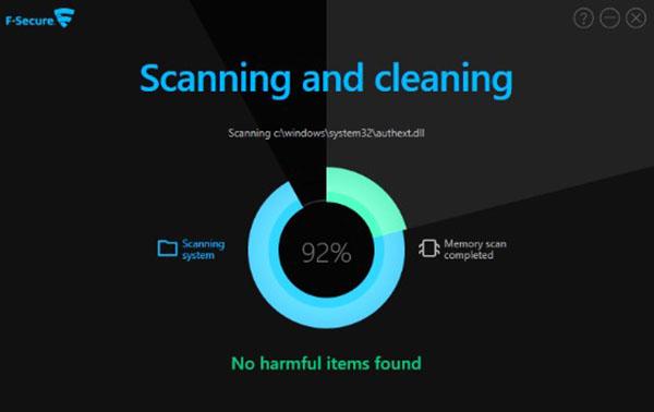 Trình quét virus trực tuyến miễn phí F-Secure Online Scanner
