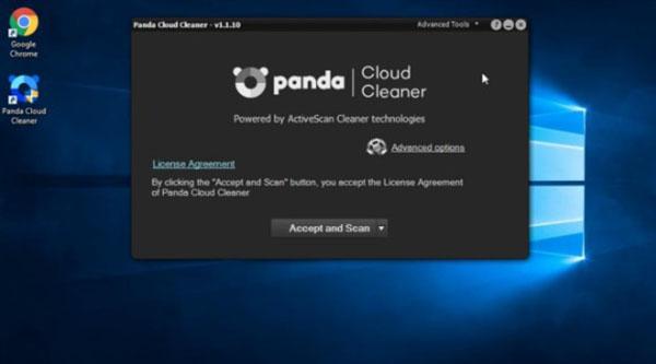 Công cụ Panda Cloud Cleaner khám phá và tìm ra các file độc hại