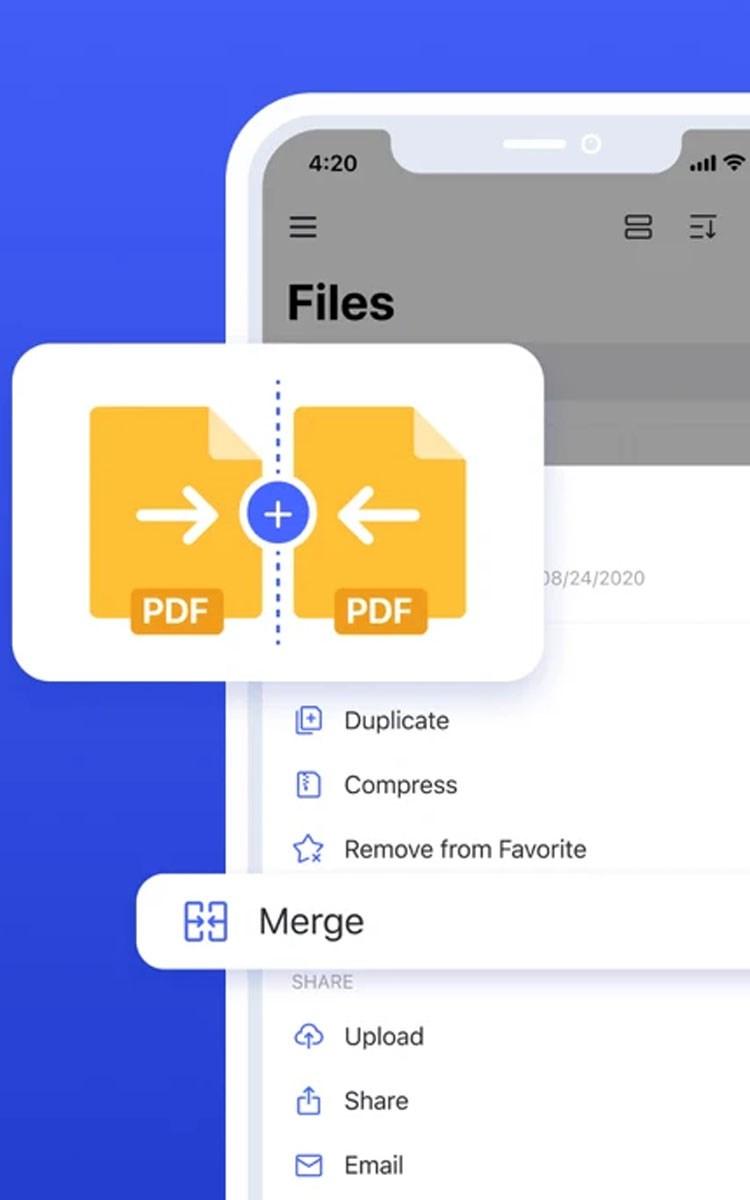 Sử dụng nhiều tệp PDF để tạo thành một file PDF tiện lợi