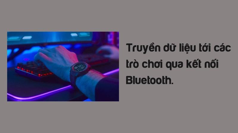 Truyền dữ liệu tới các trò chơi qua kết nối Bluetooth.