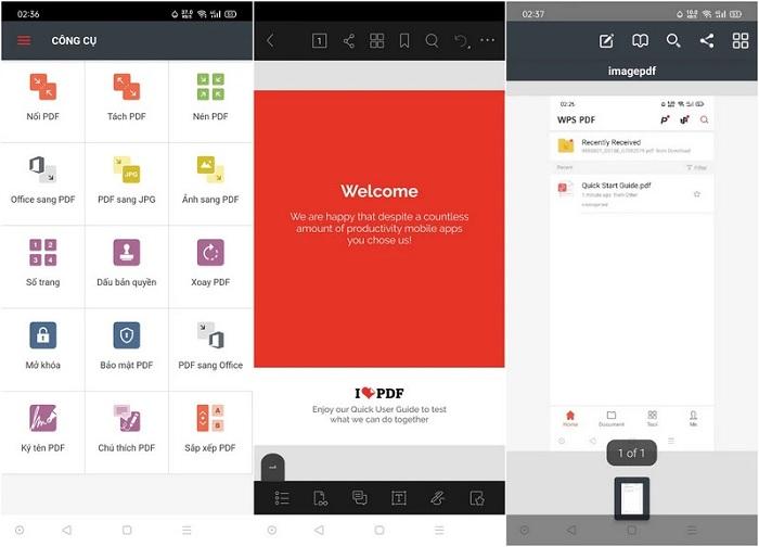 iLovePDF: Ứng dụng chỉnh sửa file PDF cho Android miễn phí