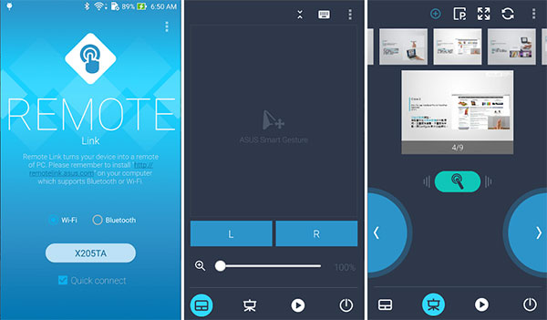 Phần mềm PC Remote dùng để kiểm soát PC trên điện thoại