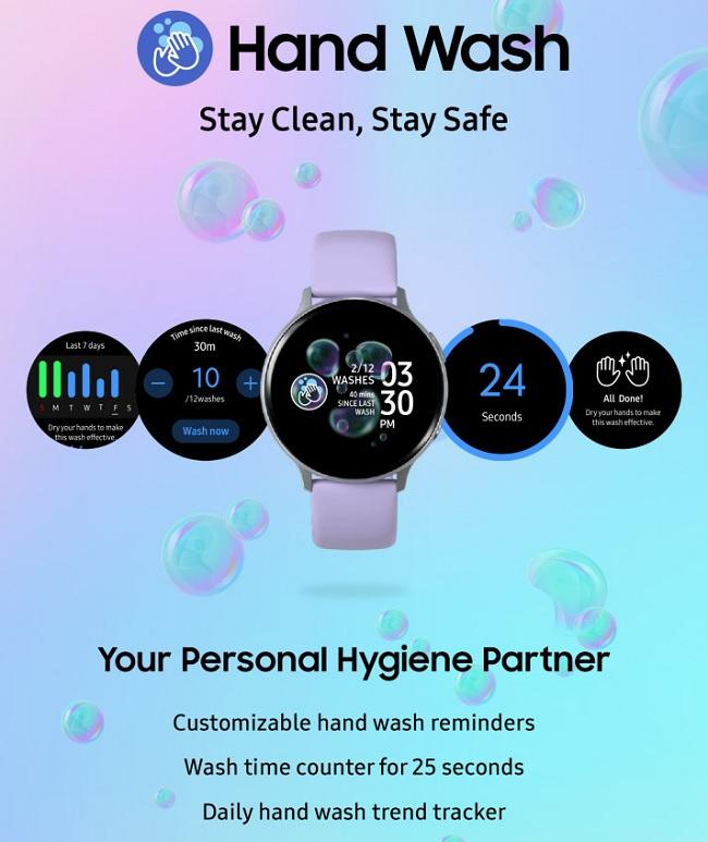"""""""Hand Wash"""" cho phép hẹn giờ rửa tay, nhắc nhở và thống kê số lần rửa tay"""