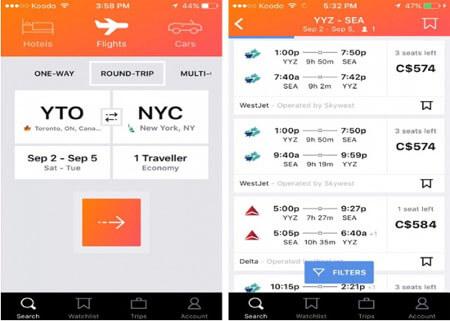 So sánh giá vé máy bay theo từng thời điểm