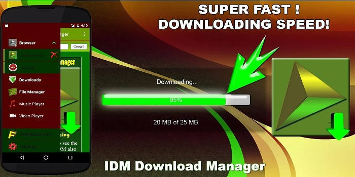 Ứng dụng IDM Download Manager