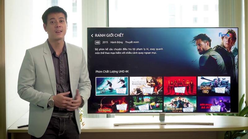 Ứng dụng xem phim trên Smart Tivi Samsung