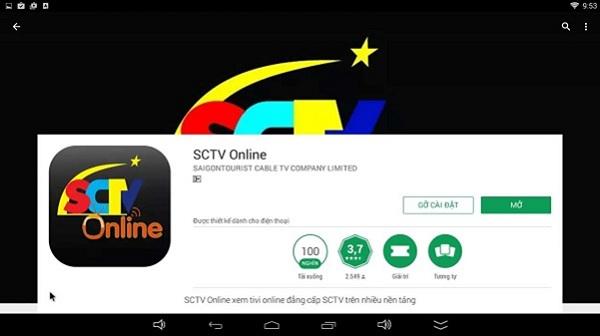 Ứng dụng tải về từ Android