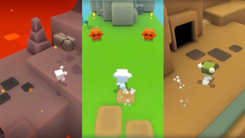 Một số môi trường trong game