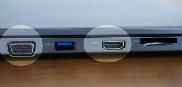 Phân biệt cổng kết nối VGA và HDMI
