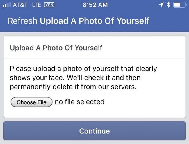 Có nhiều nguyên nhân bị checkpoint Facebook