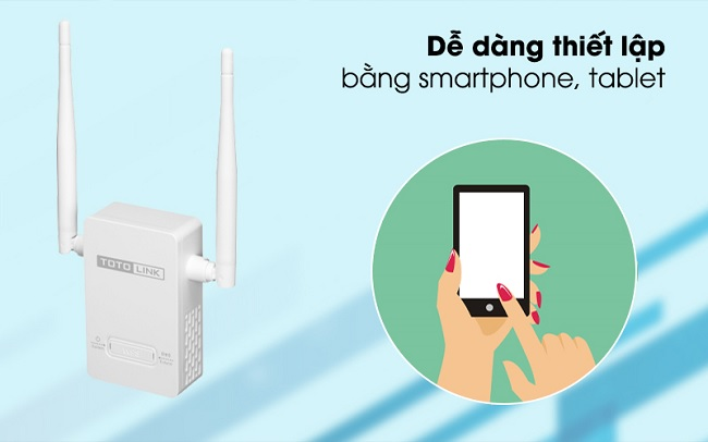 Sử dụng smartphone hoặc laptop để thiết lập WiFi Router