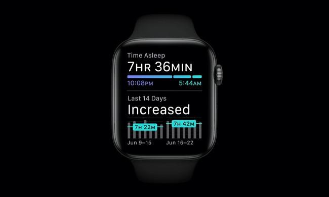 WatchOS 7 cải thiện tính năng theo dõi giấc ngủ trên Apple Watch