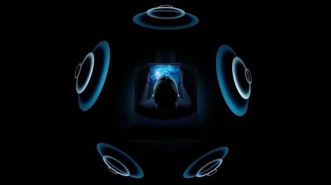 Spatial Audio đã sử dụng đến gia tốc kế và con quay hồi chuyển trong iPhone và AirPods Pro nhằm theo dõi sự di chuyển của đầu và các thiết bị