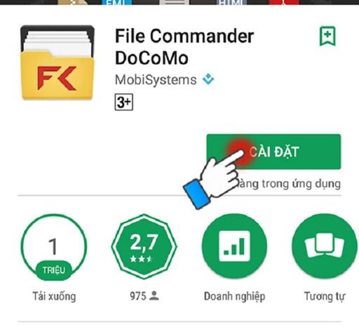 File Commander là công cụ hữu hiệu kết nối hai thiết bị không cùng hãng