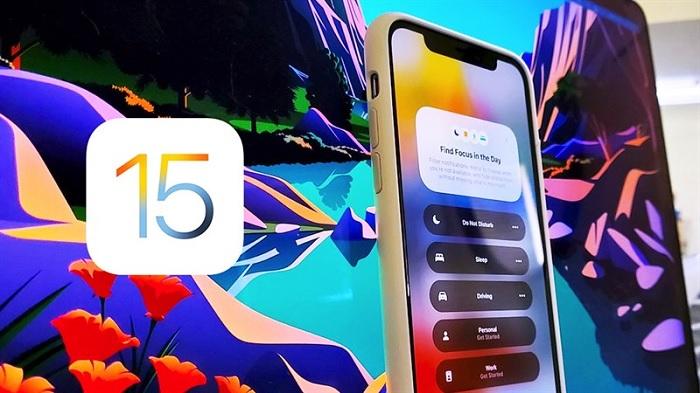 iOS 15 chính thức được phát hành